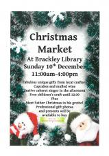 Christmas Market at Brackley Library