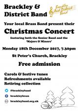 Brackley & District Band - Christmas Concert 2017