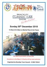 Town Mayor's Event - Classic Vehicles on the Market Place