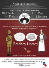Brackley Library Supporters - Poetry & Art Competition