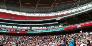 Brackley Town Football Club win at Wembley!