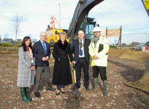 Spades In The Ground As Work Starts At The New Brackley Medical Centre