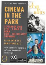 Pop up Cinema in the Park