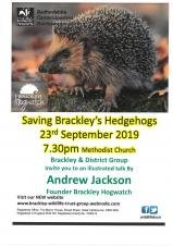Brackley Wildlife Trust - Saving Brackley's Hedgehogs