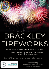 Brackley Fireworks 2019