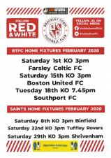 Brackley Town Football Club - Home Fixtures