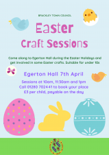 Easter Craft Fun - Event cancelled