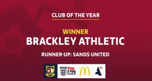 Brackley Athletic Award Scoop