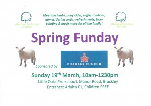 Little Oaks Pre-School Spring Fun Day
