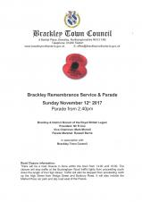 Remembrance Service & Parade